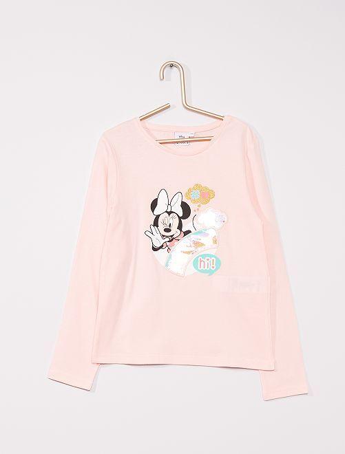 T-shirt 'Minnie Mouse' de 'Disney'                                                                 rose