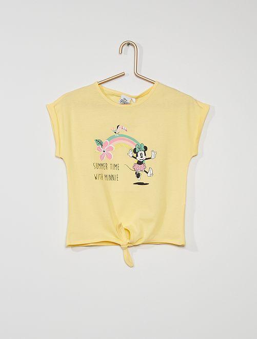 T-shirt 'Minnie Mouse'                                                     jaune