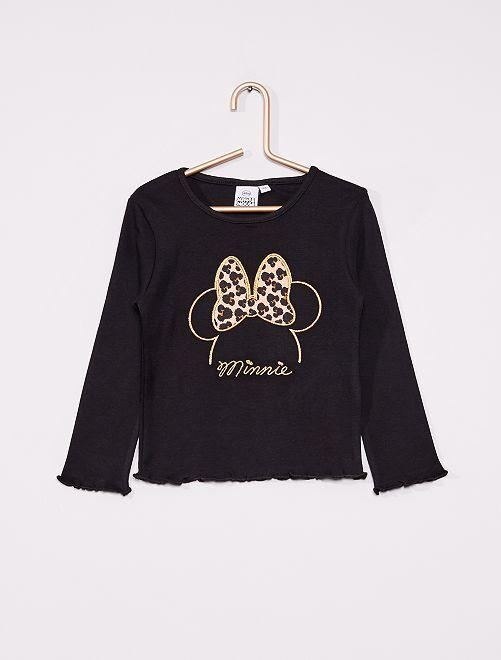 T-shirt 'Minnie'                                         noir