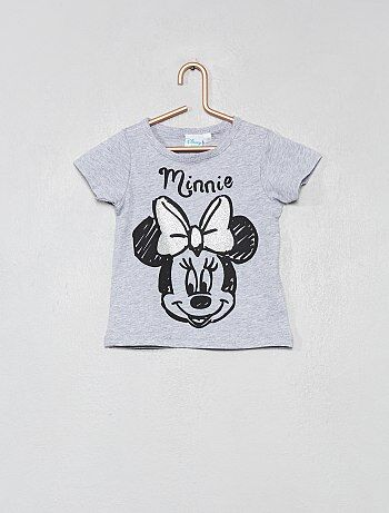 T-shirt 'Minnie' pailleté