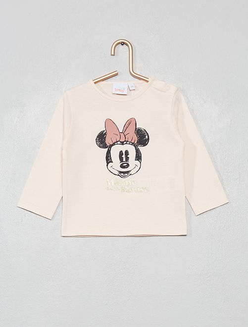 T-shirt 'Minnie'                                                                 rose Minnie