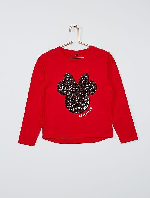 T-shirt 'Minnie'                                                     rouge