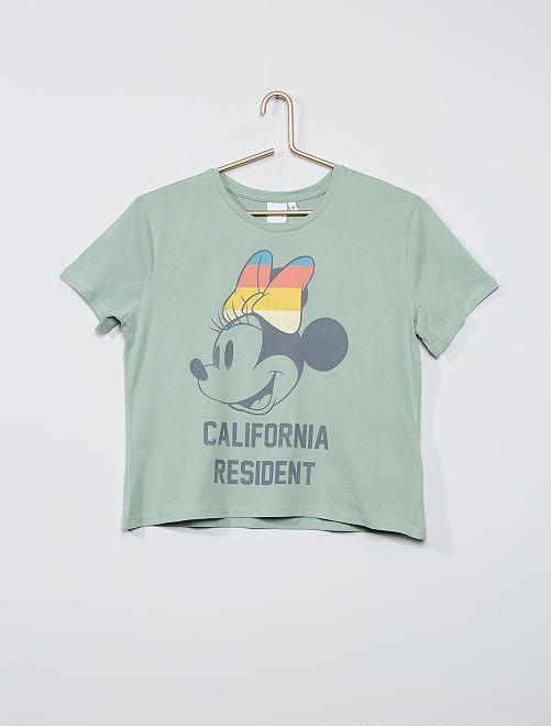 T-shirt 'Minnie'                             vert