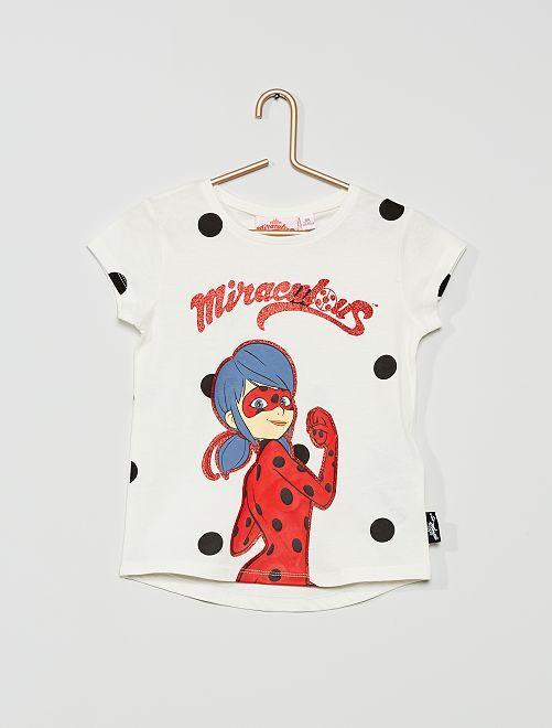 T-shirt 'Miraculous'                                         blanc