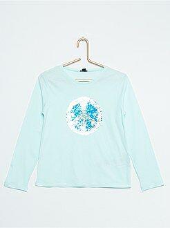 Fille 3-12 ans T-shirt motif 2 en 1