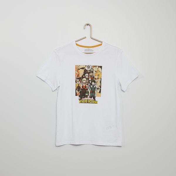Mon héros Academia deku tous pourraient Anime T-shirts Hommes Femmes Jeunes Enfants Toutes Tailles