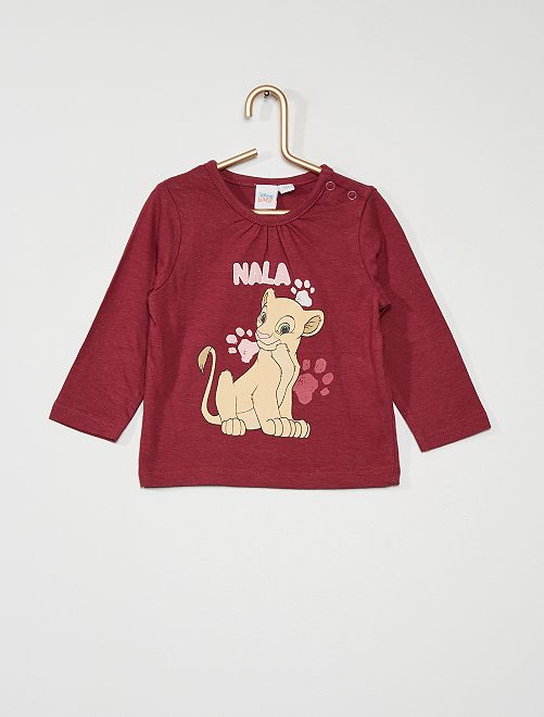 T-shirt 'Nala' de Disney                             bordeaux