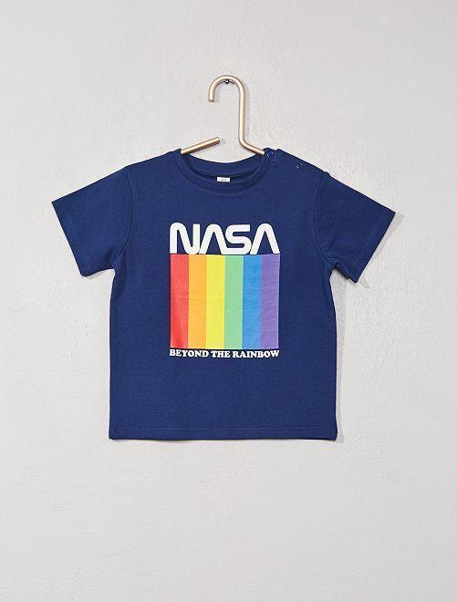 T-shirt 'NASA'                             bleu