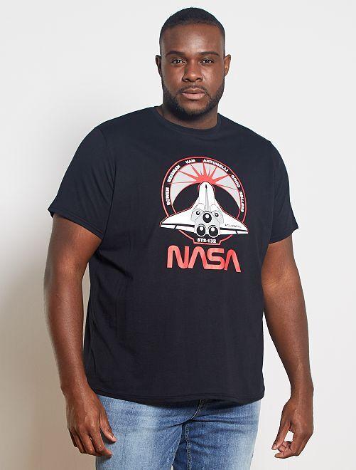 T-shirt 'NASA'                             noir