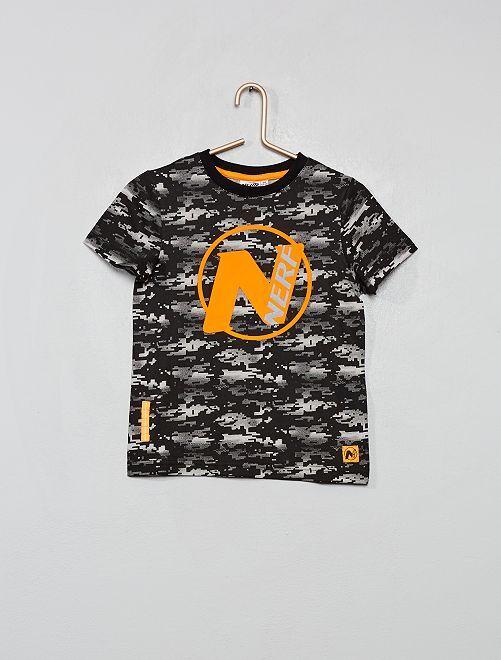 T-shirt 'Nerf'                                                     noir