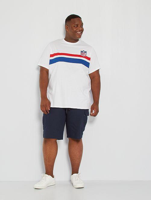 T-shirt 'NFL'                             blanc