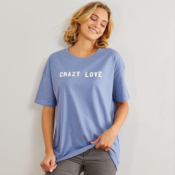 t shirt femme oversize
