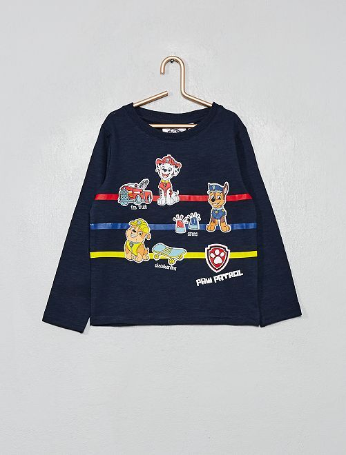 T-shirt 'Pat' Patrouille'                                 bleu marine
