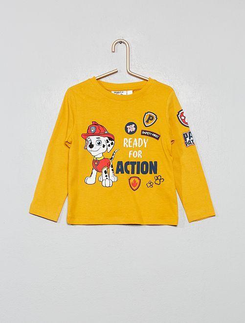 T-shirt 'Pat'Patrouille'                             jaune