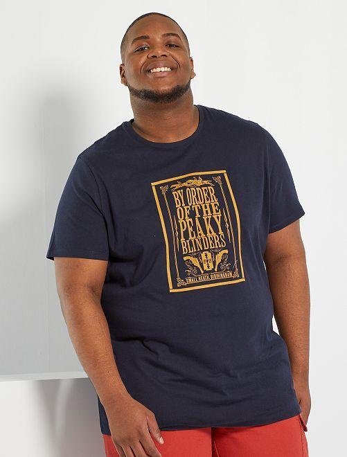 T-shirt 'Peaky Blinders'                             bleu marine