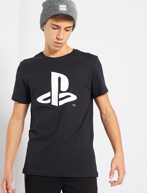 T-shirt 'Playstation'                             noir