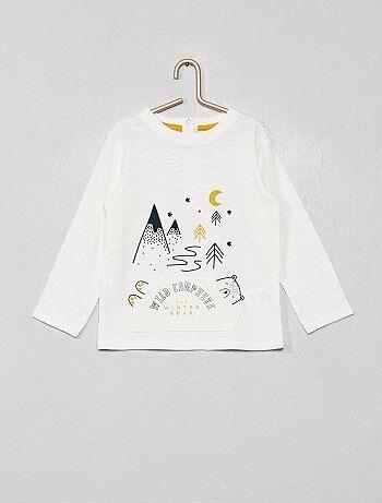7d0f594c20725 T-shirts bébé - t-shirts garçon ou fille pas cher Vêtements bébé   Kiabi