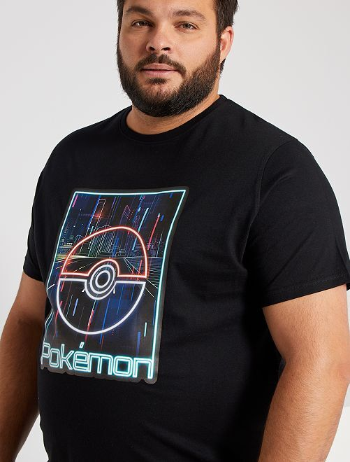 T-shirt 'Pokemon'                             noir
