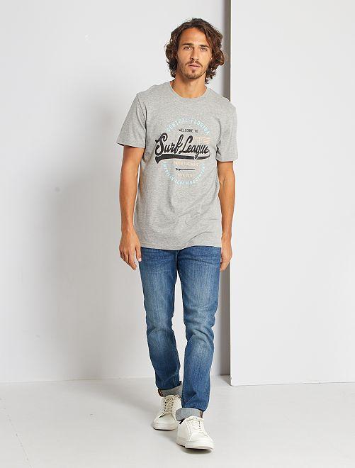T-shirt 'Produkt' éco-conçu                                                     gris chiné