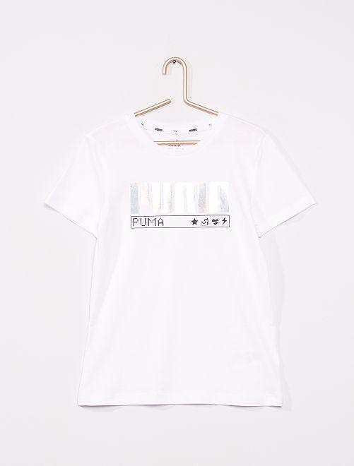 T-shirt 'Puma'                             blanc