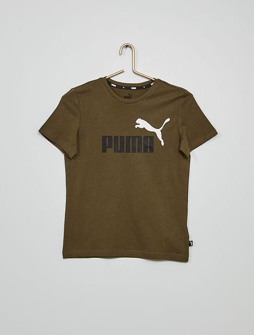 T-shirt 'Puma'                                         kaki