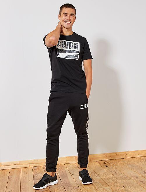 T-shirt 'Puma'                             noir Homme
