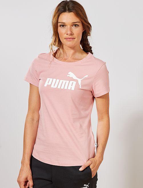 T-shirt 'Puma'                                         rose
