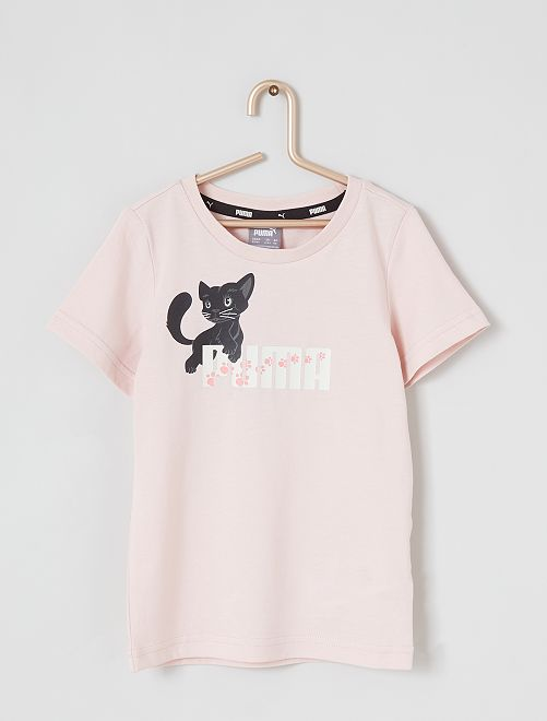 T-shirt 'Puma'                             rose pâle