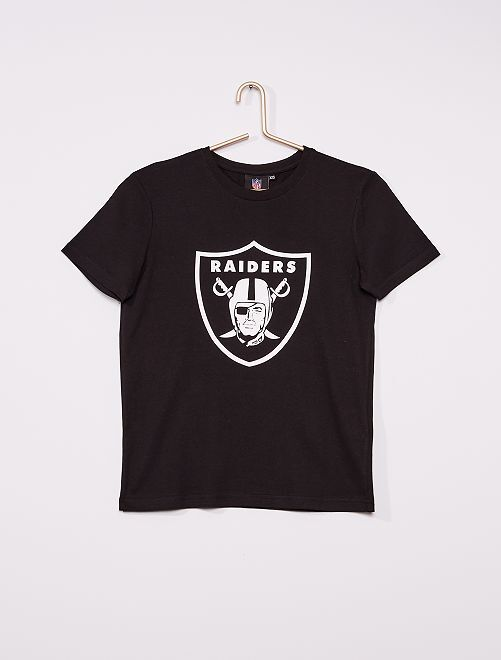 T-shirt 'Raiders' 'NFL'                                         noir
