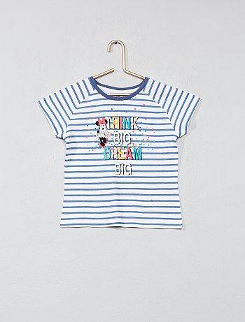 T shirt rayé `Minnie`