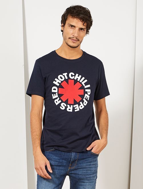 T-shirt 'Red Hot Chili Peppers'                                                     bleu marine