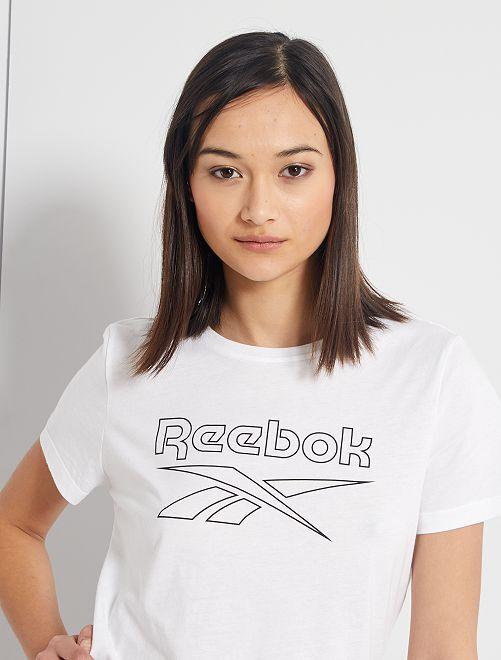 T-shirt 'Reebok'                             BLANC