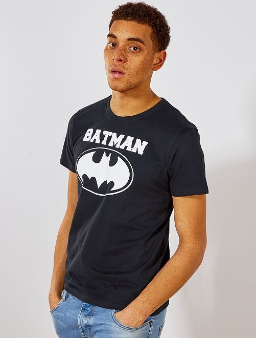 T-shirt regular 'Batman'                             noir