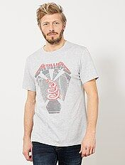 T-shirt regular imprimé 'Metallica'