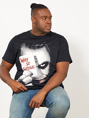 T-shirt regular imprimé 'The Joker'