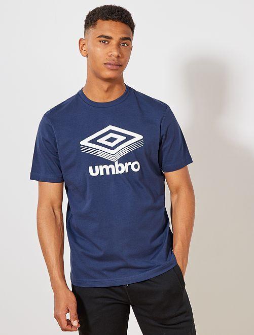 T-shirt regular 'Umbro'                                                                                                     bleu marine Homme