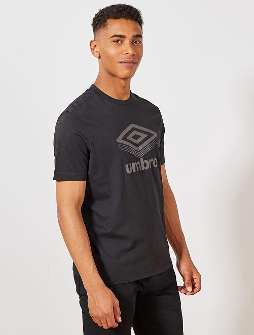 T-shirt regular 'Umbro'                                                                 noir Homme