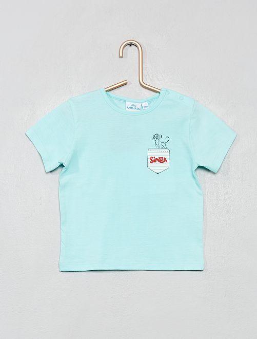 T-shirt 'Roi Lion'                             bleu