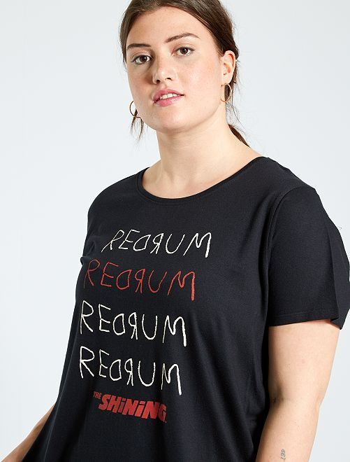 T-shirt 'Shning'                             noir