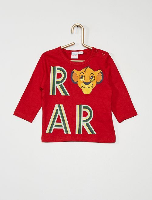 T-shirt 'Simba' de Disney                             rouge