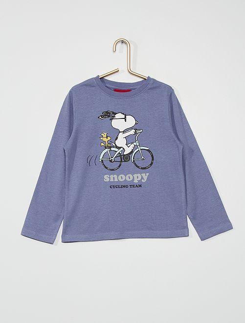 T-shirt 'Snoopy'                             bleu