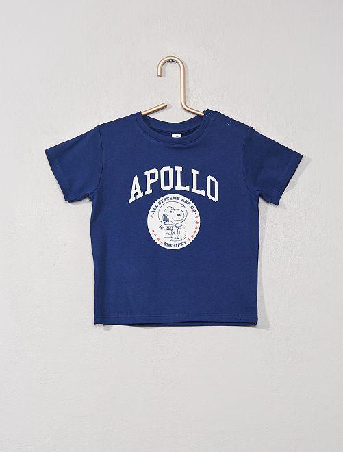 T-shirt 'Snoopy'                             bleu marine