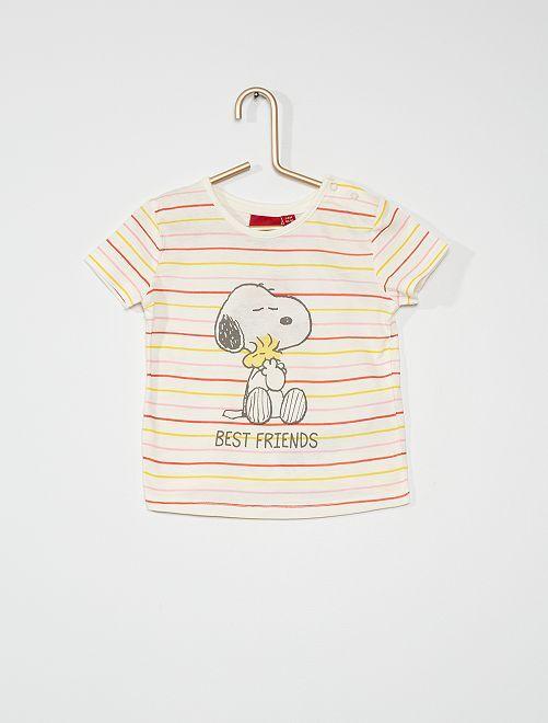 T-shirt 'Snoopy'                             écru