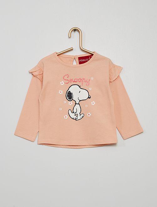 T-shirt 'Snoopy'                                         rose