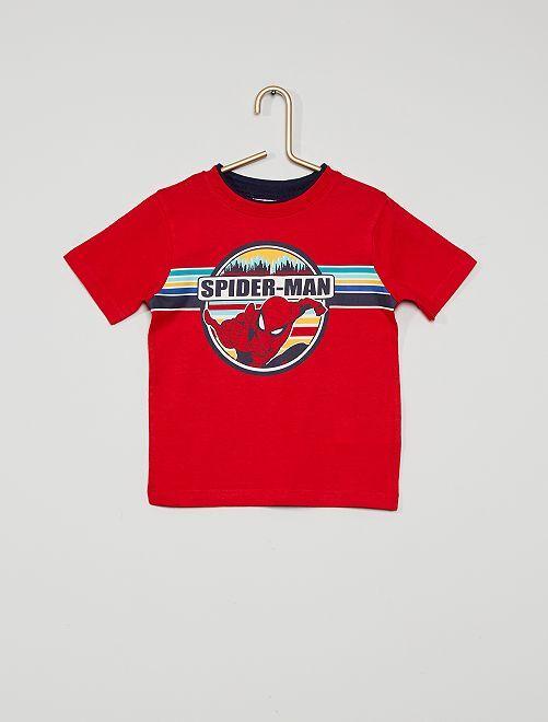T-shirt 'Spider-Man'                                         rouge
