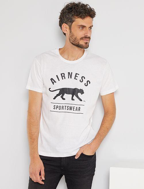 T-shirt sport 'Airness'                             blanc