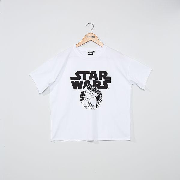 T-shirt 'Star Wars' Femme - blanc - Kiabi
