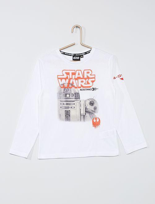 T-shirt 'Star Wars'                                         blanc