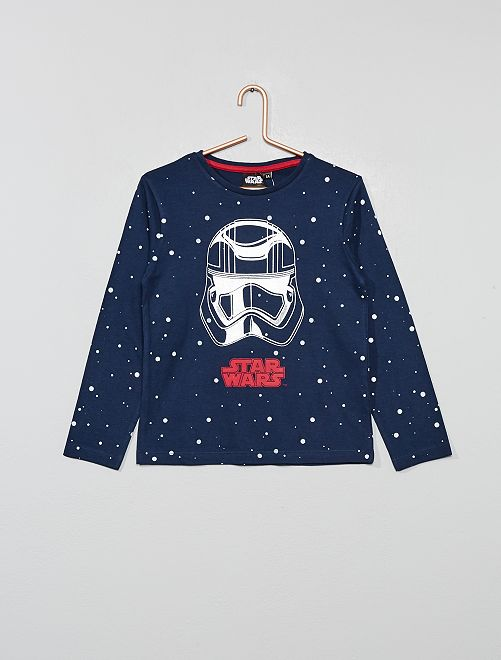T-shirt 'Star Wars'                                         bleu marine