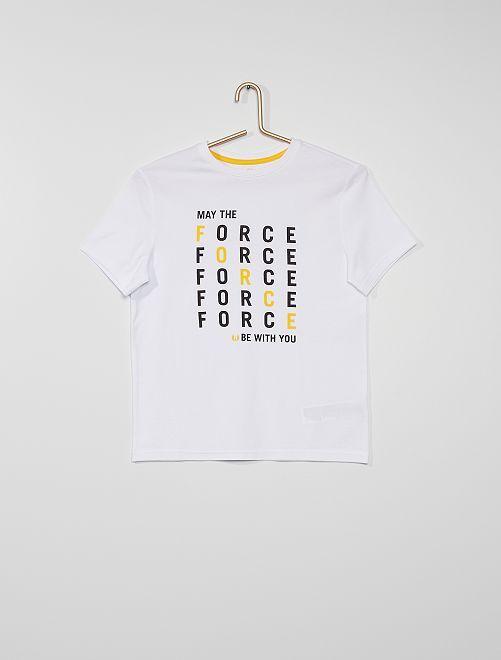 T-shirt 'Star Wars' éco-conçu                             blanc